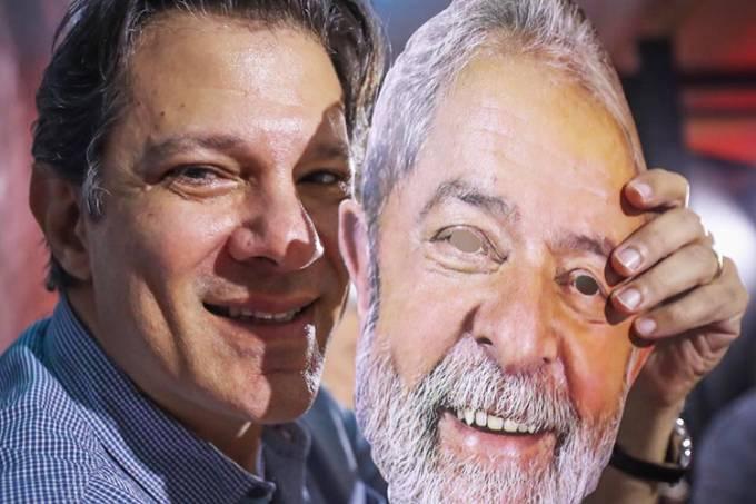 Haddad deve adotar nome de Lula na urna em caso de indeferimento