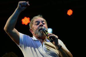 Lula reafirmou manter candidatura à Presidência (Foto: Christophe Simon/AFP)
