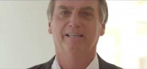 Bolsonaro chora ao falar da filha