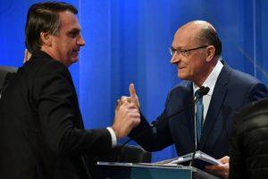 Alckmim e Bolsonaro