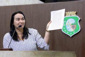 Silvana criticou o feminismo da tribuna da Assembleia (Foto: Divulgação)
