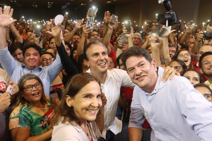 Cid e Camilo (Foto: Tatiana Fortes/O POVO)