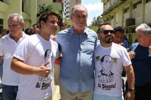 Ciro Gomes após votar