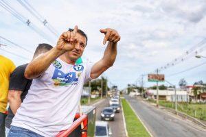 Bombeiro militar por mais de 30 anos, Moisés fez campanha ligada a Bolsonaro (Foto: Divulgação)