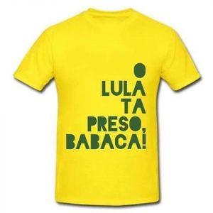 Camisa com crítica de Cid a Lula repercute entre eleitores de Bolsonaro (Reprodução)
