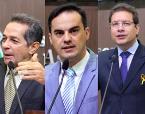 Deputados de oposição na AL (Foto: Divulgação)