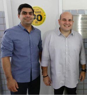 Queiroz Filho e Roberto Cláudio
