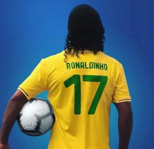 Ronaldinho Gaúcho declarou apoio a Bolsonaro nas redes (Foto: Reprodução)