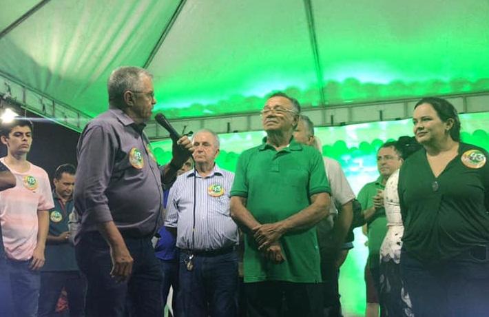 Candidato do PV em Cascavel teve apoio de lideranças do PSL (Foto: Reprodução/Facebook)