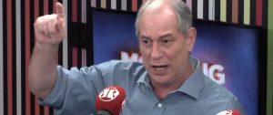 Ciro Gomes comenta sobre ex-presidente Lula