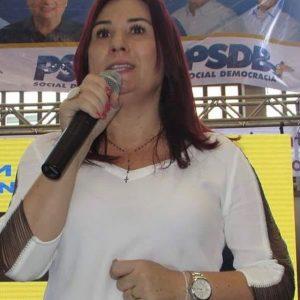 Pré-candidata pelo PSDB em Caucaia, Emilia Pessoa