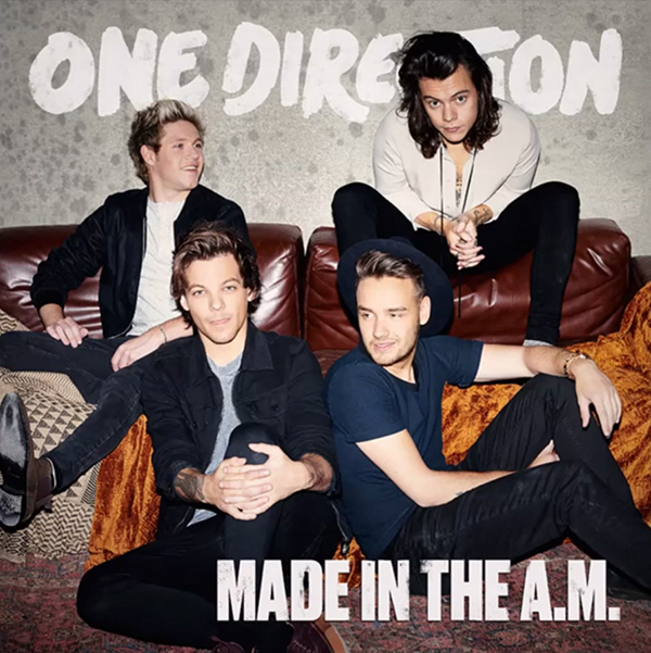 capa de Made in The AM One Direction