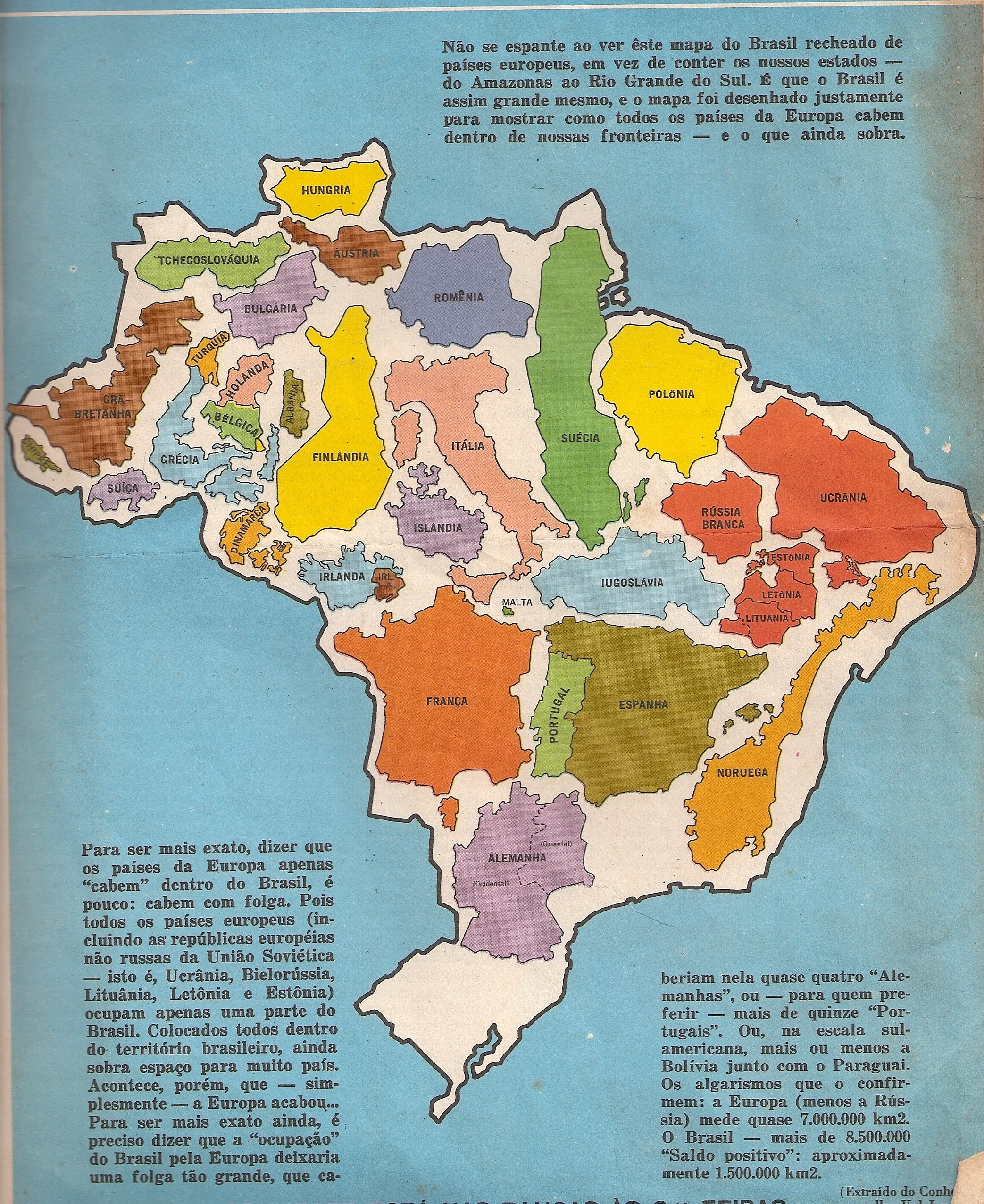 Brazil is a big country [500x672] : MapPorn