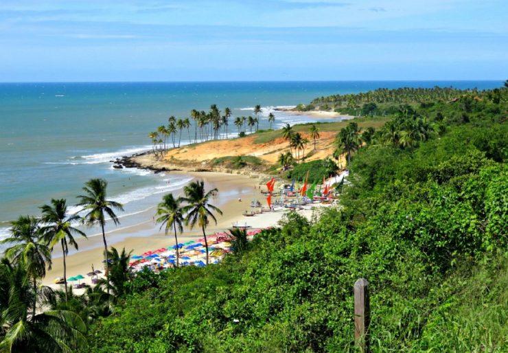 praia do litoral cearense