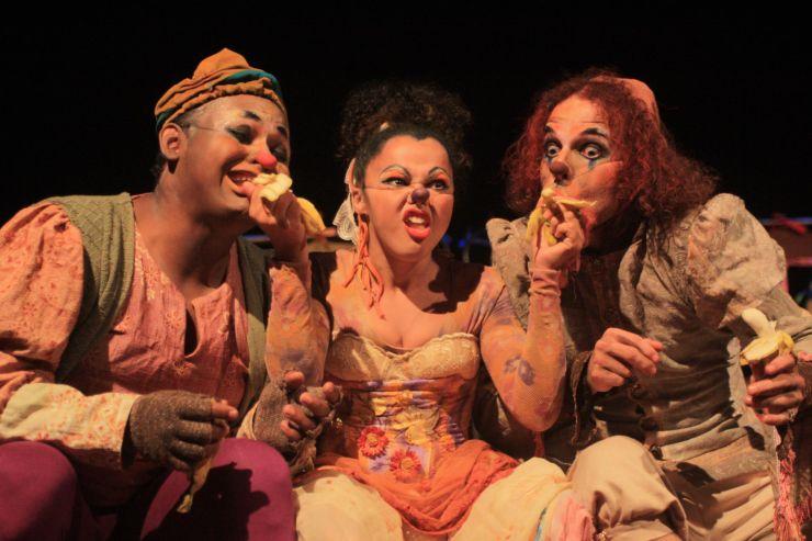 Trupe Arlequim de Circo é parte da programação cultural