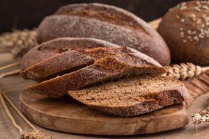 na imagem, pão australiano fatiado