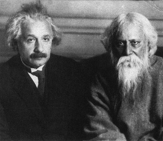 Um gênio das letras encontra um gênio da ciência: Tagore e Einstein