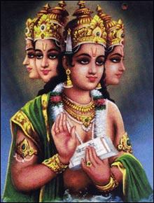 Brahma, divindade do panteão Hinduísta