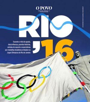 Guia das Olimpíadas do O POVO. (Imagem: Divulgação)