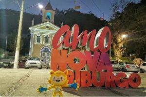 Última cidade a receber o revezamento da Tocha. (Foto: Rio 2016/ Leonardo Rui)