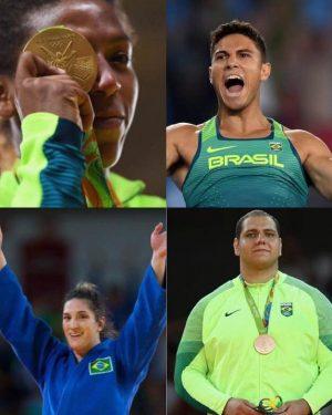 Atletas que têm em comum muito mais que as medalhas, mas o sobrenome. (Foto: Reprodução)