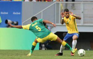 Brasil fica no empate sem gols contra a África do Sul. (Foto: Mowa Press/ Lucas Figueiredo)