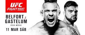 Ingressos para o UFC® FIGHT NIGHT: Belfort x Gastelum,em Fortaleza começam a ser vendidos nesta quarta-feira, 18 de janeiro (Foto: Divulgação)