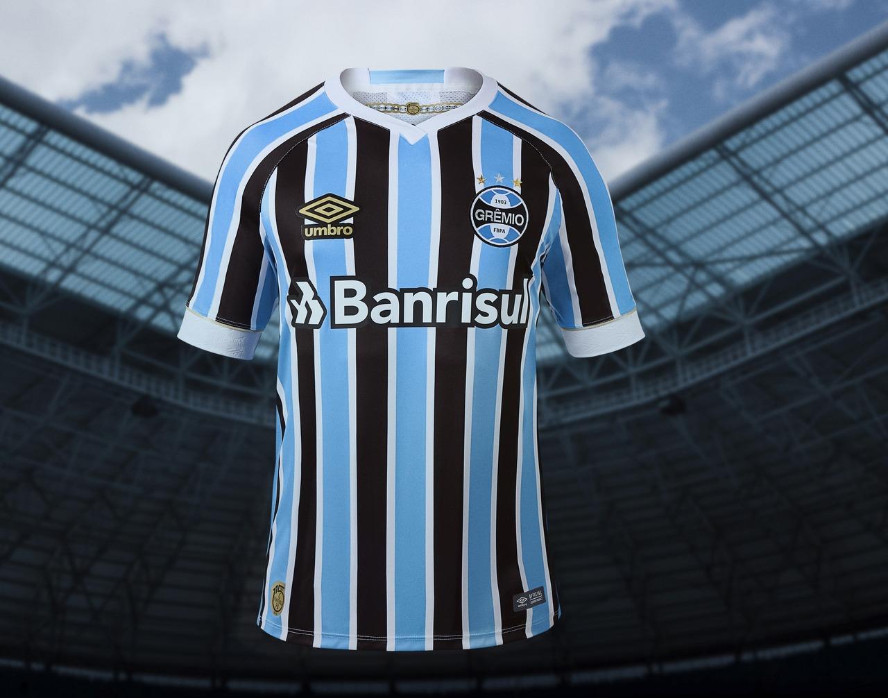 Novo uniforme do Grêmio homenageia os 115 anos do clube 9f827c53899f1